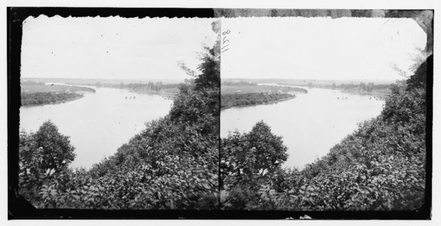 Drewry's Bluff, Virginia (vicinity). View on James river