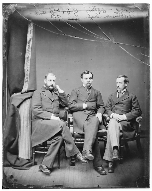 E.L. Stanton, Robert Lincoln, Mr Wells [?]