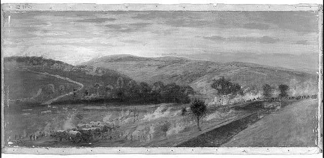 Escape of the Army of Virginia, commanded by General Lee, over the Potomac River near Williamsport