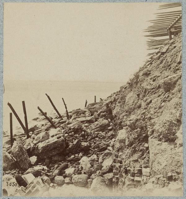 Exterior view, April, 1865