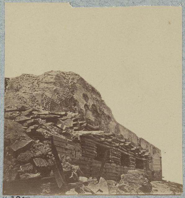 Exterior views in April, 1865
