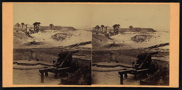 Fort Beauregard from Fort Moultrie