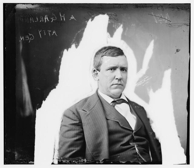 Garland, Hon. A.H., Atty. Gen.