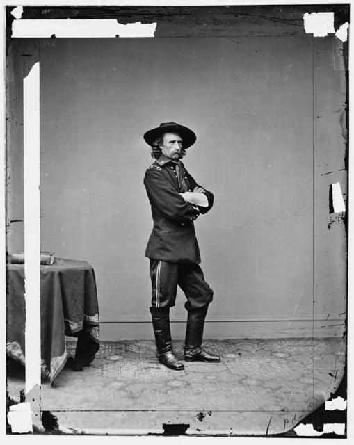 Gen. George Custer, U.S.A.