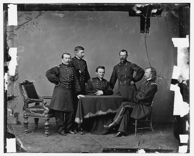 Gen. Phil Sheridan and Staff