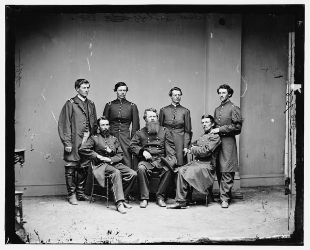 General Belknap and Staff