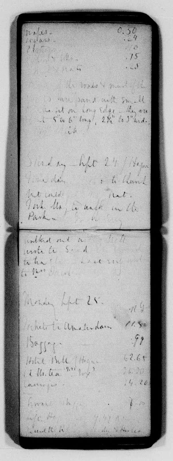George Brinton McClellan Papers: Diaries, 1846-1884; McClellan, George B. (1826-1885); 1865, Aug. 22-Dec. 19