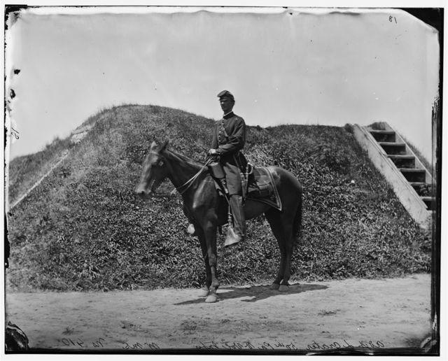 Gettysburg, Pennsylvania. Adj. Lewis Crater 50th Pennsylvania Infantry