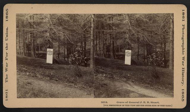 Grave of General J.E.B. Stuart