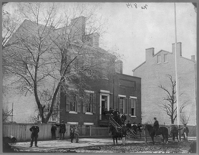 [Headquarters of Signal Corps, Washington D.C., April 1865]