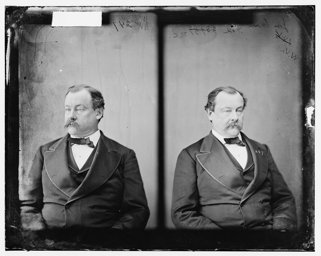 Hoge, Hon., John Blair of W.Va. Delegate to Democratic National Conventions at Charleston, S.C. & Baltimore - 1860. Served in Confederate Army