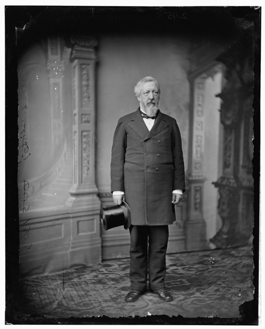 Hon. James G. Blaine, Senator of Maine (Secretary of State, Garfield Admin.)