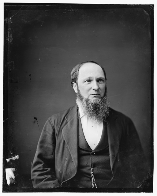 Hon. James William Marshall of Va. (Post master general - Grant's Cabinet) Private in Confederate Army