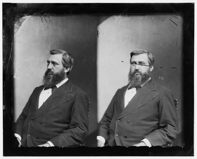 Hon. Lorenzo Crounse of Nebraska (Capt. Of light battery of artillery during Civil War)