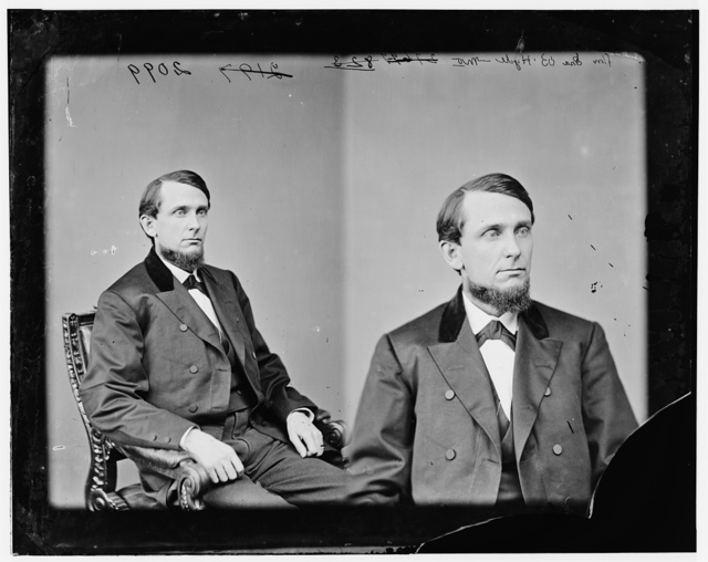 Hyde, hon. Ira B. Rep of Mo. Pvt. Co. F. 1st Minn. Mounted Rangers against Sioux Indians