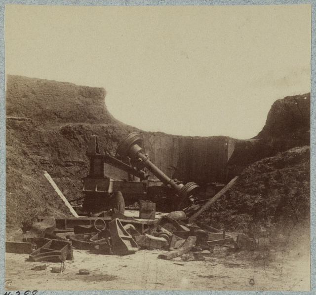 Interior views of Fort Moultrie, Charleston, S.C., April, 1865