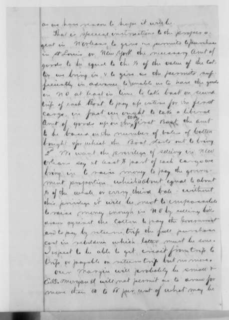 James Harrison to David L. Phillips, Thursday, January 12, 1865  (Business affairs)