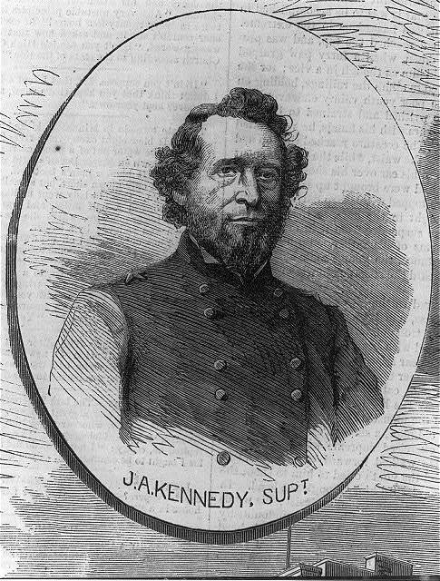 [John A. Kennedy, 1803-1873, head and shoulders, facing right. Supt. N.Y.C. Police]