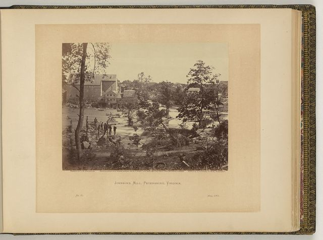 Johnson's Mill, Petersburg, Virginia / negative by T.H. O'Sullivan, positive by A. Gardner.