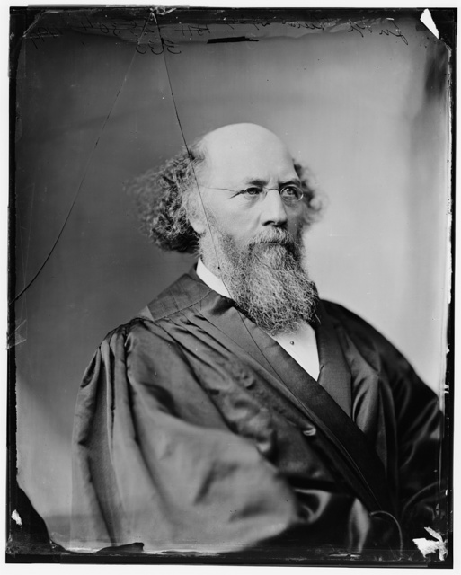 Judge Field Stephen Johnson appointed to the Supreme Court by Lincoln in 1863 photo c. 1875