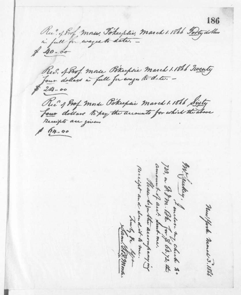 Letterbook---7 June 1865-19 June 1866