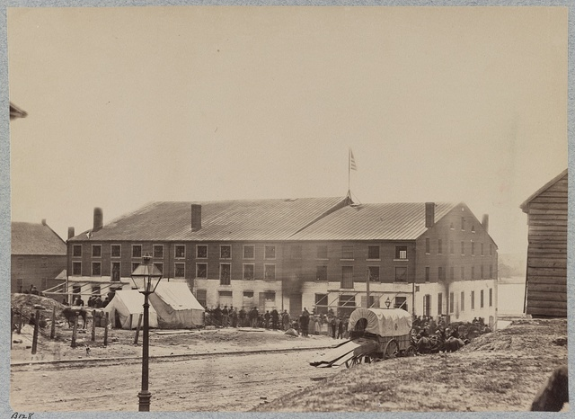 Libby Prison, Richmond, Va., April, 1865