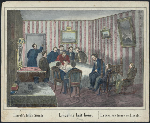 Lincoln's last hour.
