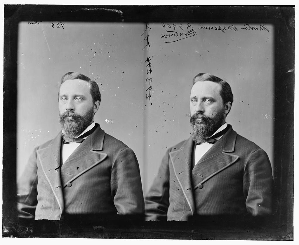 Maginnis, Hon. Martin of Montana. Delegate from Territory of Montana
