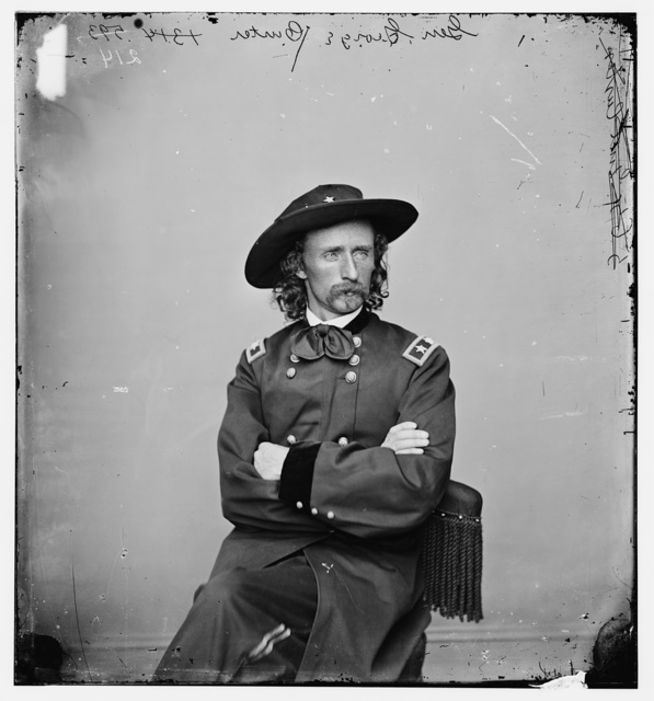 [Major General George Armstrong] Custer