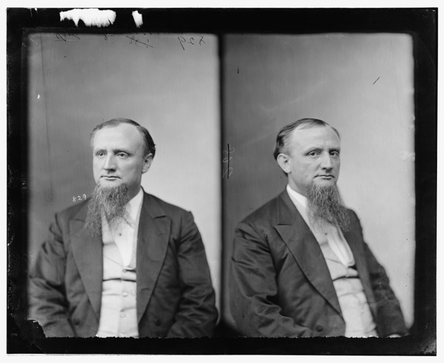 Manning, Hon. Vannoy Hartrog of Miss. Colonel of 3rd Arkansas Inf. C.S.A. Captured at the Battle of the Wilderness