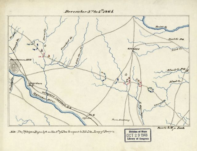 [Maps for history of 20th Army Corps, June 1864-May 11, 1865].