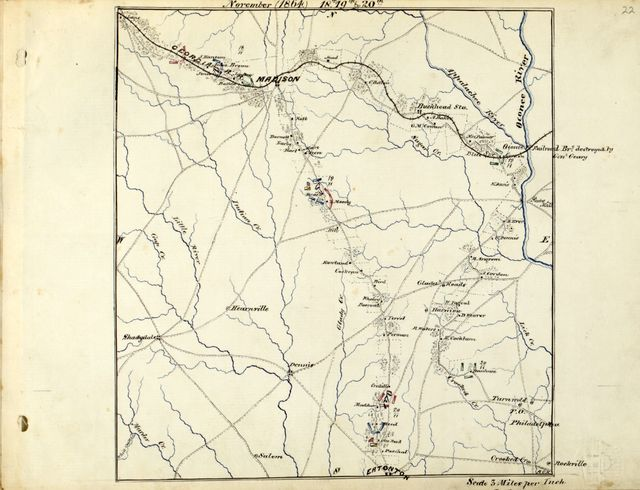"Maps illustrating Gen'l Sherman's ""March to the sea"" and through the Carolinas and Virginia /"