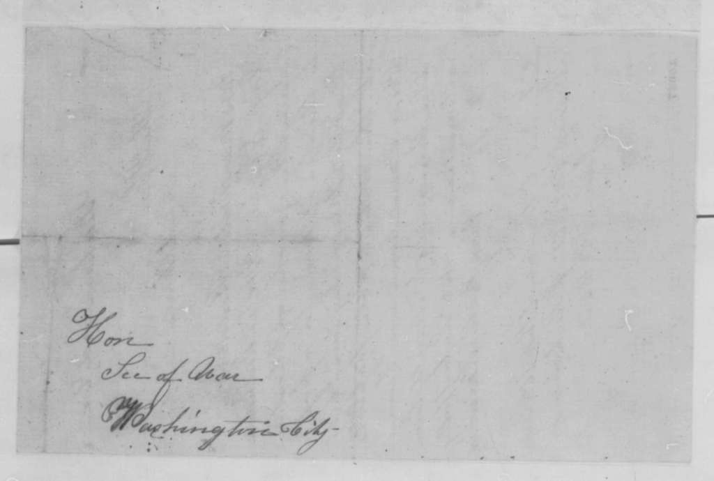 Mary M. Redwood to Edwin M. Stanton, Monday, January 16, 1865  (Requests pass)