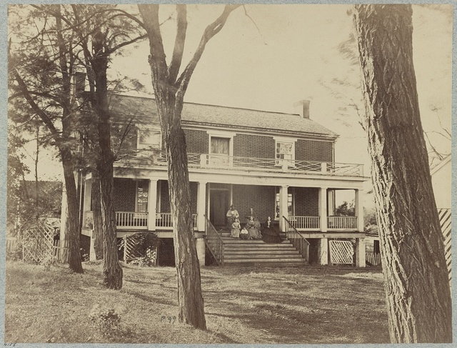 McLean's House, Appomattox, Va., scene of General Lee's surrender