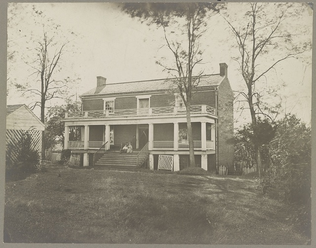 McLean's House, Appomattox, Va. Scene of Lee's surrender