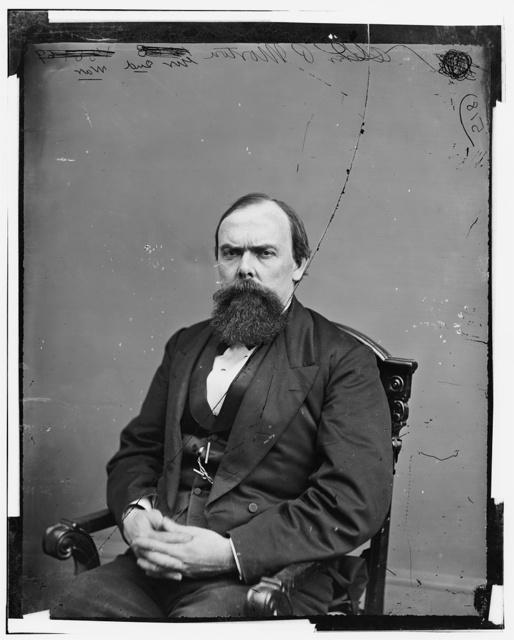 Morton, Hon. Oliver Hazard Perry T. of Ind. Gov. of Ind. in 1861