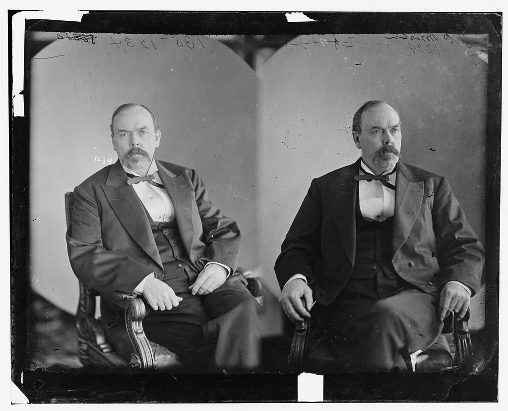 Morton, Hon. Oliver Hazard Perry T. of Ind. Senator. Gov. of Ind.