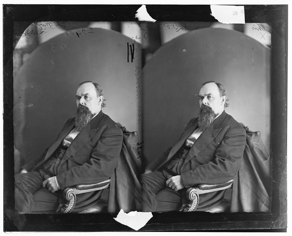 Morton, Hon. Oliver Hazard Perry T. of Ind. War Gov. of Ind.