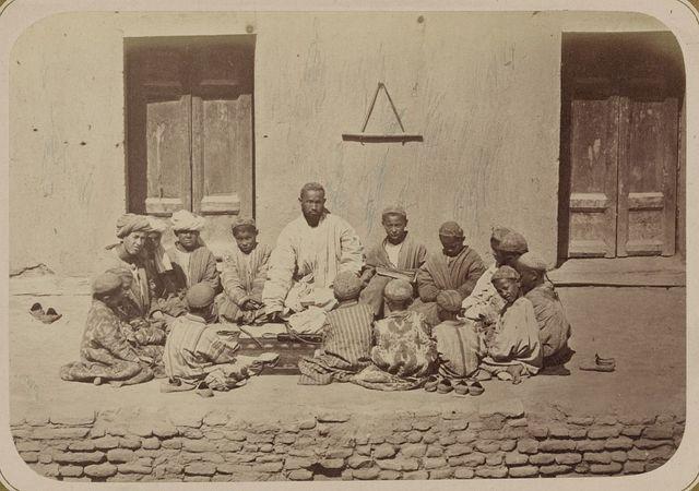 Musul'manskaia shkola Shkola (mekteb-khane)