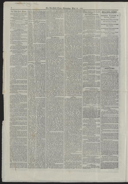 New York Times, [newspaper]. May 10, 1865.