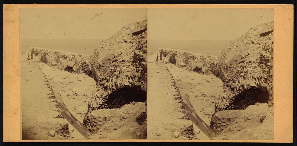 Parapet, Fort Sumter