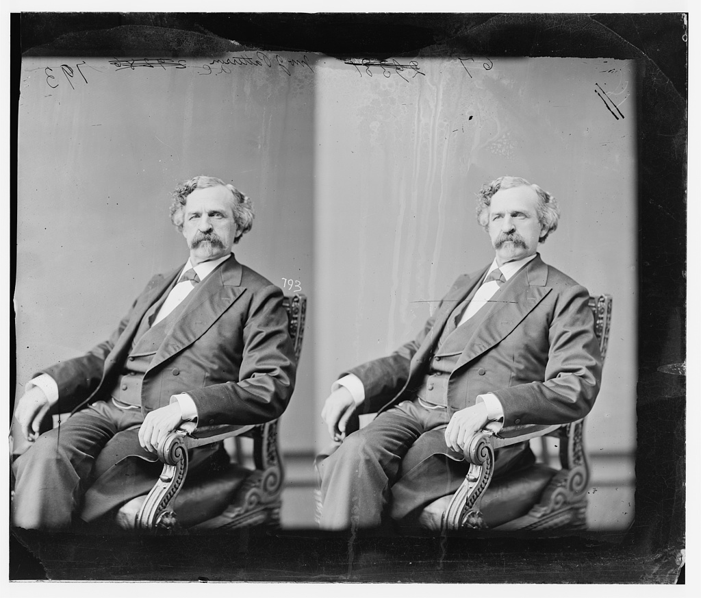 Patterson, Hon. John James of S.C. (Born in PA. 1830) Delegate to Nat. Republican Convention at Chicago 1860, Capt in 15th U.S. Vol. Inf.