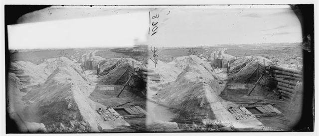 Petersburg, Virginia. Federal line near Fort Morton