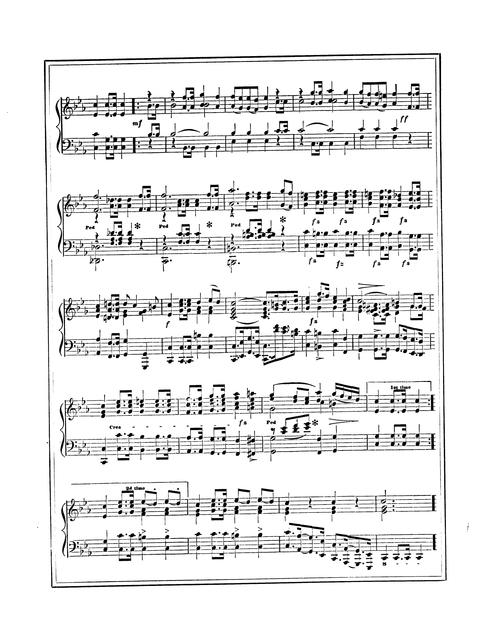 President Lincoln's funeral march: composed for the piano-forte by J. W. Groschel.