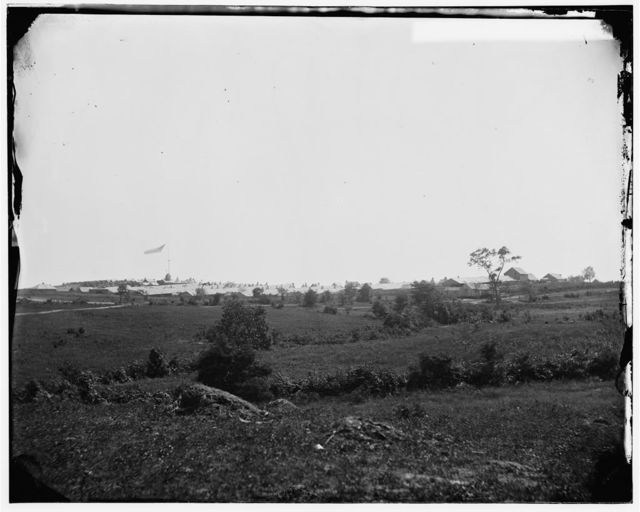 Prospect Hill, Virginia. Distant view of the camp of the 13th New York Cavalry