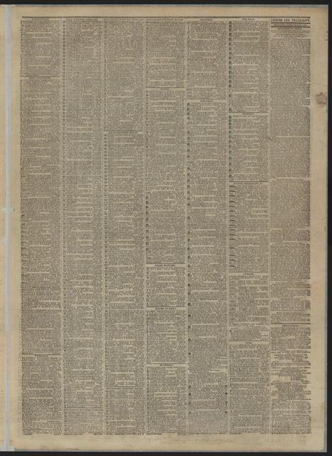 Public Ledger, [newspaper]. April 21, 1865.