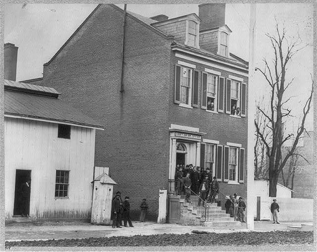 [Quartermaster's Office, Washington, D.C. April 1865]