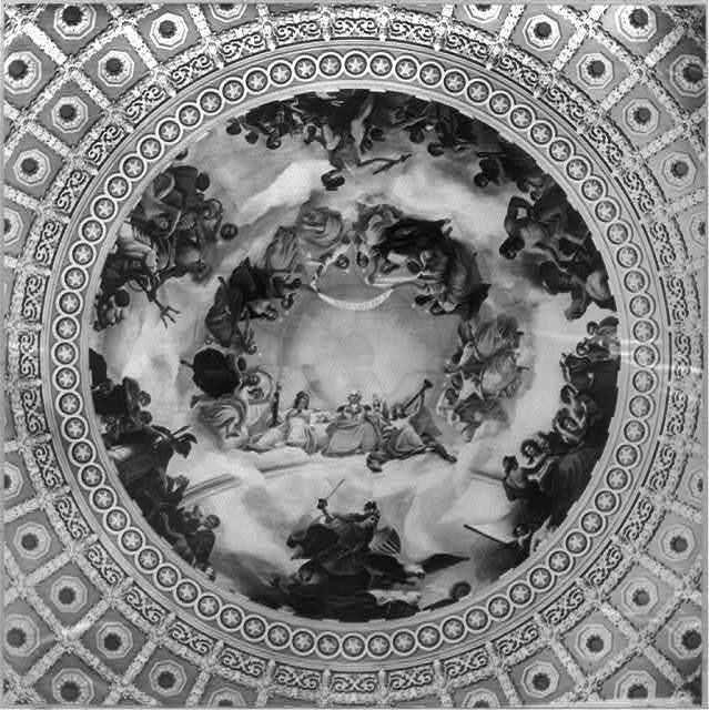 Ratond [i.e. rotunda]. Apotheosis of Washington