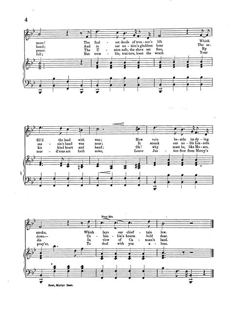 Rest, martyr, rest: song and chorus music by Geo. P. Graff; words by Jas. E. Glass.
