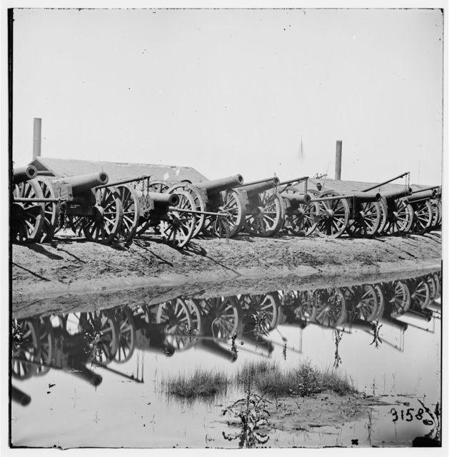 [Richmond, Va. Captured siege guns at Rocketts; different view]